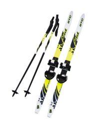 STC Ski Set with poles Kids Combi