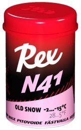 "Rex 101 N41 Pink ""old snow"" Grip wax -2...-15°C, 45g"
