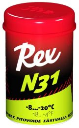 Rex 111 N31 Green Grip wax -8...-20°C, 45g