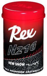 "Rex 143 N21G Black ""new snow"" Grip wax -1...-12°C, 45g"