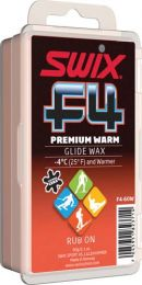 SWIX F4-60W Premium Warm Glide Rub On with cork, 60 g